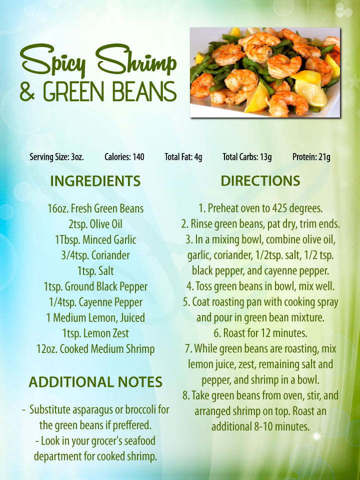 green beans spicy roasted green beans or broccoli and shrimp recipes ...